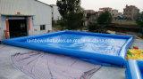 Het goedkope Vierkante Opblaasbare Zwembad van de Prijs voor Commerciële Huur