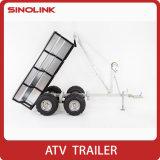 ATV UTV zette de Gegalvaniseerde Capaciteit van de Aanhangwagen 1000kg van de Stortplaats op