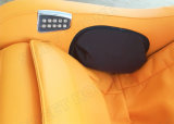 전기 L 궤도 기대는 가득 차있는 바디 배려 Shiatsu 의자 안마
