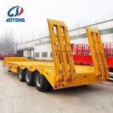 Hochleistungs3axles 60tons Lowbed Schlussteil China-/Lowboy halb Schlussteil für Verkauf