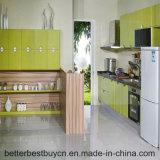 La conception de haut niveau de l'Europe haute brillance des armoires de cuisine
