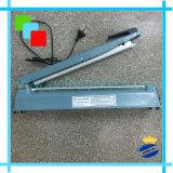 Cuerpo de hierro de 400 mm de la máquina de sellado al calor de impulso para el PP, PE