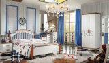 Accueil Italien de la mélamine Kids lit Chambre à coucher Mobilier Set (SZ-BT9908)