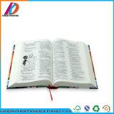Изготовленный на заказ обслуживание книжного производства святейшей библии книга в твердой обложке
