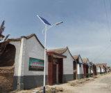 Solarstraßenlaternemit dem Griff hergestellt in China