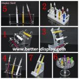 Présentoir acrylique en plastique fait sur commande de batterie/fume-cigarettes électronique