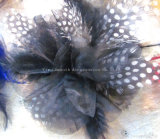 Мода ручной работы Вся обшивочная ткань шифон головные уборы ремесел многоцветные перья декоративные цветы