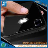 Caisse neuve de téléphone de coup avec la vue en aluminium 4 dans 1 pour l'iPhone X