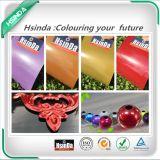 Roter Funken-verbundene metallische Polyester-Puder-Schicht