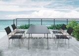 Stainless Steel Legs를 가진 등나무 정원 Furniture Outdoor Chairs