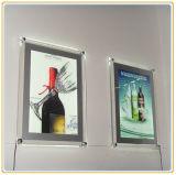 Doos van het Frame van de LEIDENE Foto van het Kristal de Acryl Digitale Lichte (A2)