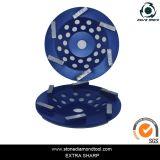 7 인치 파 가는 세그먼트 편평한 다이아몬드 컵 바퀴