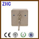 Porte-rouleau électrique Interrupteur à clé à clé en aluminium