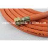 Huile en caoutchouc souple à l'orange / tuyau de gaz LPG