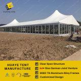 Tent van de Markttent van het Huwelijk van de Muur van de luxe de Transparante met de Muur van het Glas