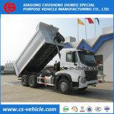 Sinotruk 6*4 25ton LHD HOWO caminhão basculante para venda