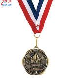 Personalizar el chapado de Antigüedades de alta calidad de la antorcha de la medalla de metal