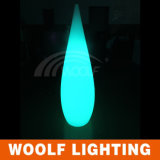 Gota de agua de la lámpara LED recargable inalámbrica