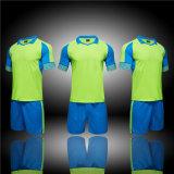 T-shirts verts ordinaires de mâle de fonctionnement de formation d'équipe de tissu de Funtioanl