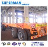 20FT 3 de Skeletachtige Container die van de As Aanhangwagen van de Vrachtwagen van de Lading de Semi trekken