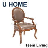 Cadeira francesa do estilo para a mobília interior