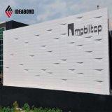 Matière composite en aluminium de revêtement de mur (AF-406)
