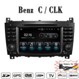 (Facultatif) antireflet Carplay Android lecteur de DVD pour le BENZ C-Class W203/CLK W209 de la radio de navigation GPS/BT