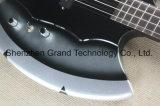 4-String Bass Guitar con Ax Signiture y la forma 3 pastillas Open Hardware cromado (GB-74)