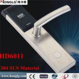 304 Slot van de Deur van het Hotel van Keyless van het roestvrij staal het Elektronische (HD6011)