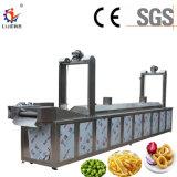 La industria de la máquina automática para freír papas fritas