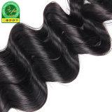 Глянцевая гладкая кривая Intalian высокого качества 100% подлинных человеческих волос