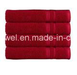 卸売70X140cm白く明白なテリータオルの一定の高級ホテルの100%年の綿の浴室タオル
