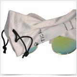 Bolsa lateral doble del tirón de Microfiber del teléfono y de lentes