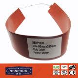 Calefator isolado da borracha de silicone do UL aprovado