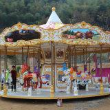 24 de Carrousel van Kiddie van het Pretpark van zetels Met Mooi Ontwerp