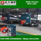 Wns 0.5-6 tonnellate di gas/petrolio/caldaia a vapore infornata diesel per la fabbrica dell'indumento