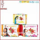 모오리시어스를 위한 음이온 Sanitary Napkins, Breathable Sanitary Pads, 중국 OEM Manufacturer