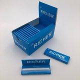 Papiers de roulement de fumage de livret explicatif bleu plus riche de /Brown