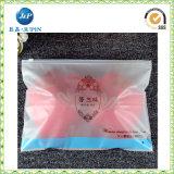 Sac de sous-vêtements de PVC de blocage de fermeture éclair estampé 2015 par coutumes (JP-plastic039)