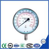 Специальный тип Ударостойкий высокого давления манометра давления манометр в корпусе из нержавеющей стали