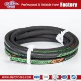 Eingewickelt/glatt machen en 853 1sn des Deckel-hydraulisches Gummischlauch-SAE 100r1at/DIN