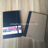 Quaderno da disegno di cuoio reso personale 2018 di abbozzo del blocchetto per appunti dello Sketchbook del taccuino di abbozzo dell'unità di elaborazione