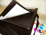 Recicle o padrão de Eco Duffle Saco de ombro com tecidos de PP