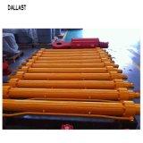 構築機械装置の掘削機ブームアームバケツのために産業フランジの水圧シリンダ