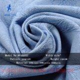 셔츠 블라우스를 위한 35%Rayon 30%Cotton 35%Linen 자카드 직물 직물