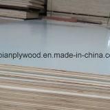 La melamina hizo frente a la madera contrachapada para los muebles