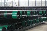 API 5CT J55 K55 N80 Tubo de tampa de tubo sem costura bc/LC