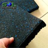 Ginásio Fitness EPDM reciclados piso em azulejo do Tapete de Borracha