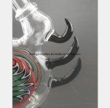 Glaswasser-Rohr für Farben-Torsion-Blume, Hupen-Filter-Tabak