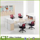 Escritorio moderno de los asientos del sitio de trabajo 6 de la oficina de los muebles de los CF